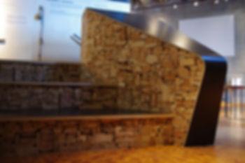 vitenfabrikken sandnes vitensenter science center children architecture barn arkitektur moll mikal christos hafsahl gjenbruk materialer avkapp linoleum nuart stavanger moderne interior arkitektur unik skulptur organisk form spiselig arkitektur