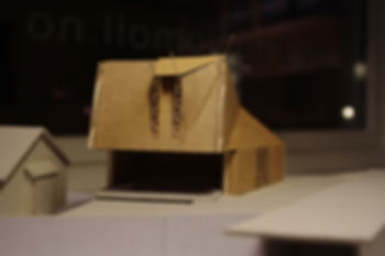moll mikal christos hafsahl sivilarkitekt ntnu university sketch model architecture scultpture small house
