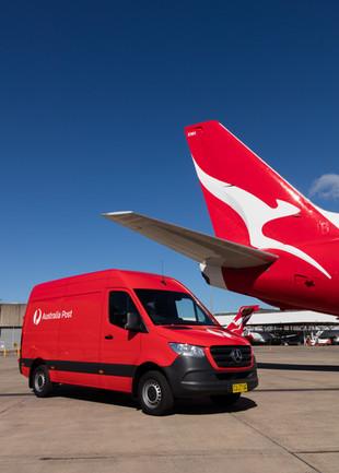 Qantas & Australia Post Partnership