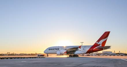 A380 Departure, Sydney Airport