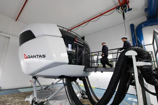 Qantas B787 Simulator