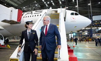 Aviation support announcement, Syd