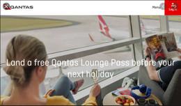 Qantas Club Lounge