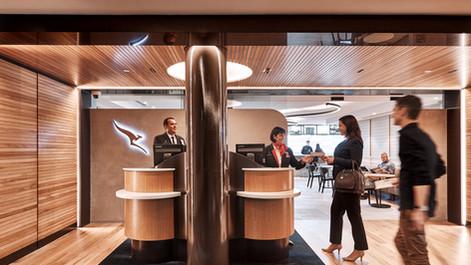Qantas Brisbane Lounge