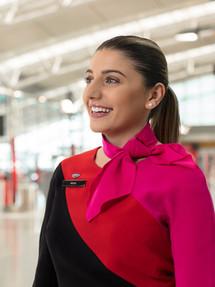 Qantas Checkin Staff
