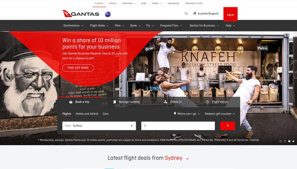Qantas Loyalty Campaign, Bearded Bakers