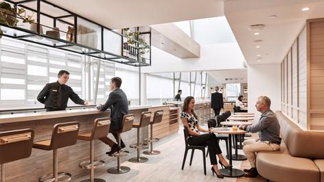 Qantas Business Lounge