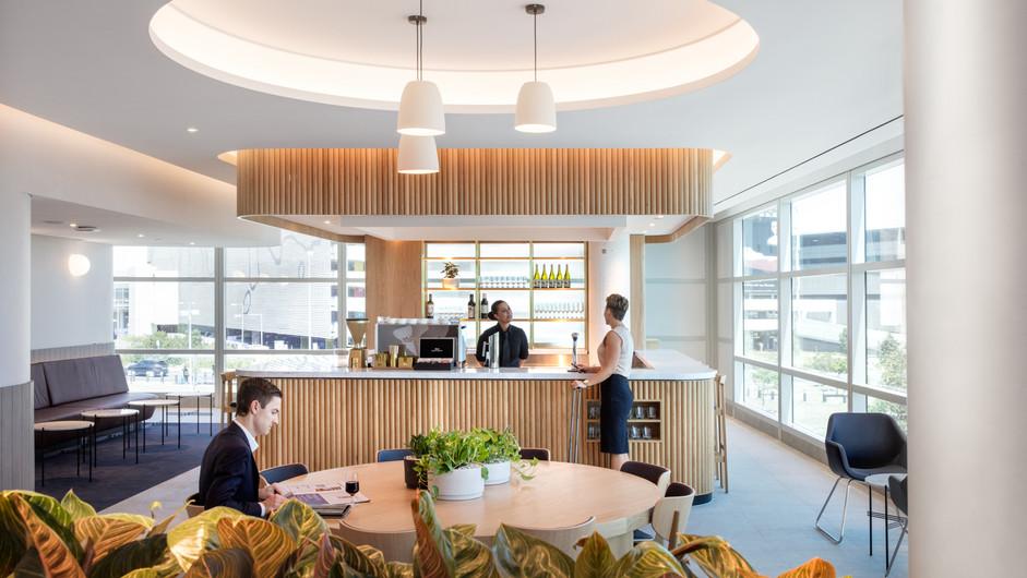 Qantas Perth Business Lounge