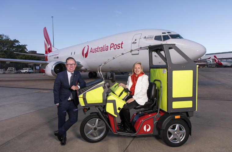 Qantas + Australia Post Announcement