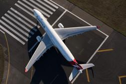 A330 Departure, Sydney Airport