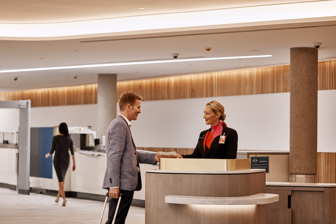 Lounge Check-in, Brisbane