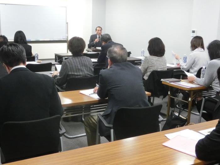 社会保険労務士様向け「労働問題研究会(元裁判官が語る労働審判、訴訟の実際)」の開催