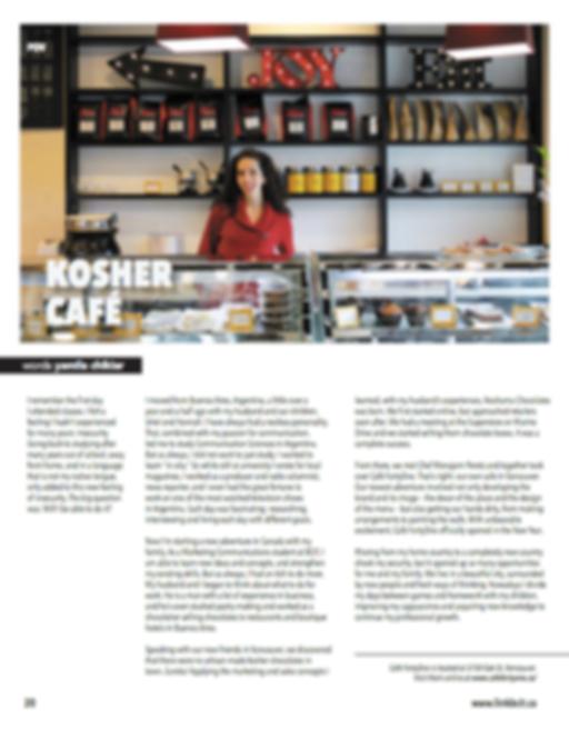 Kosher Café Vancouver BC
