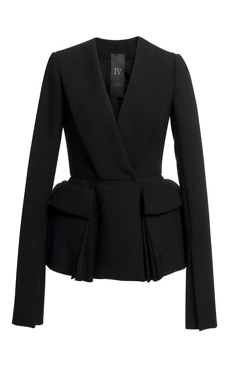WOOL JACKET - WITH POCKETS