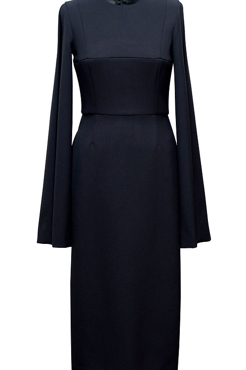 BLACK DRESS OPEN SIDES