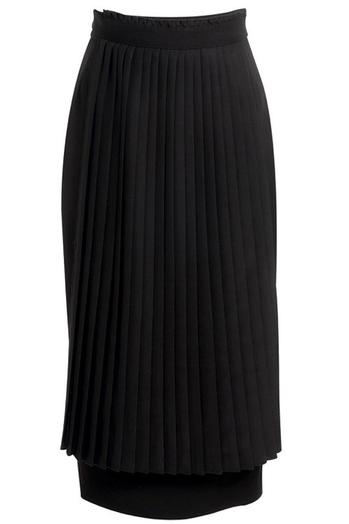 PENCIL SKIRT - WITH PLEATS