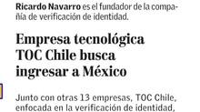 El Mercurio: Empresa Tecnológica TOC Chile busca ingresar a México