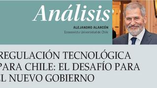Regulación Tecnológica para Chile: El desafío para el nuevo gobierno