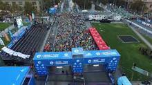 Uso de verificación de identidad con biometría redujo huella de CO2 de la Maratón de Santiago