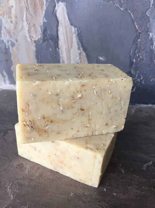 Lemony Oatmeal Handmade Natural Soap Los Angeles