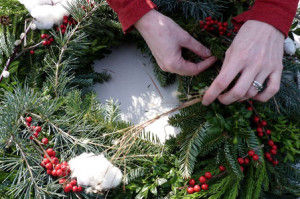 Wreath Decorating Party