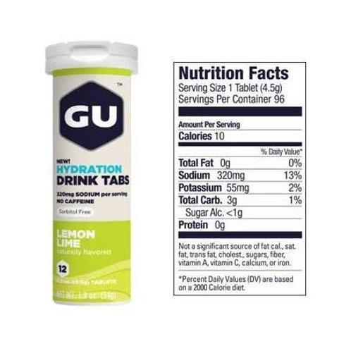 Pastillas de Hidratación Gu