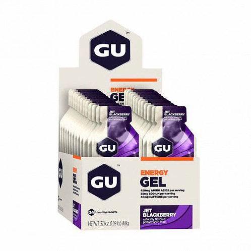 Gel Gu Energy con Cafeina - Caja x 24 unidades