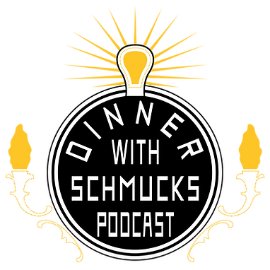 Dinner with Schmucks Electric City Logo