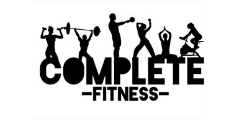 Complete Fitness logo weightlifting powerlifting weights dumbbells barbells yoga stretch exercise workout stationary bicycle bike athlete professional Tipp City Ohio gym personal trainer athletic