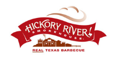 Hickory River Smokehouse logo real Texas barbecue BBQ restaurant food dinner lunch meal Tipp City Ohio