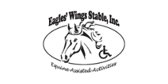 Eagles Wings Stable, Inc. logo equine assisted activities Piqua Ohio horse accessible