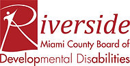 Miami County Board of Developmental Disabilities (Riverside) red logo