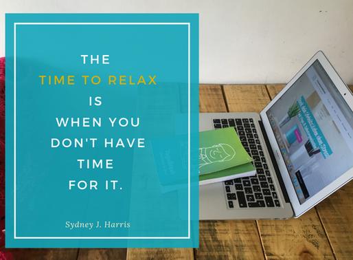 Entspannter arbeiten und was schaffen mit Kurzpausen: Test-Tag machen!