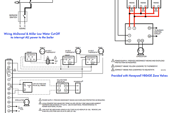 wiring diagram 1 honeywell v8043e1012 zone valve honeywell 3-Way Switch Wiring Diagram 3-Way Switch Wiring Diagram