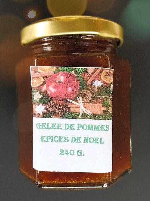 Gelée de Pomme Épices de Noël