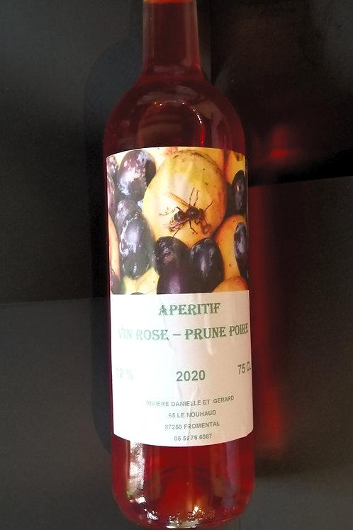 Vin Rosé PRUNE POIRE