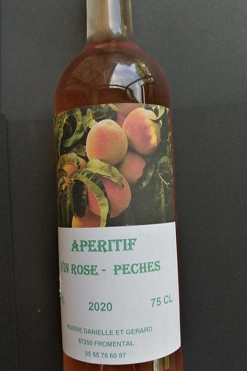 Vin Rosé PECHES