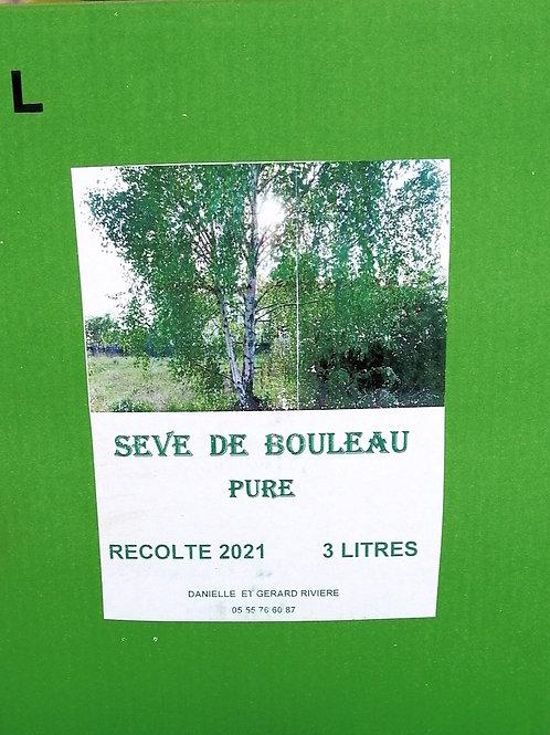 Sève de Bouleux - 3 Litres