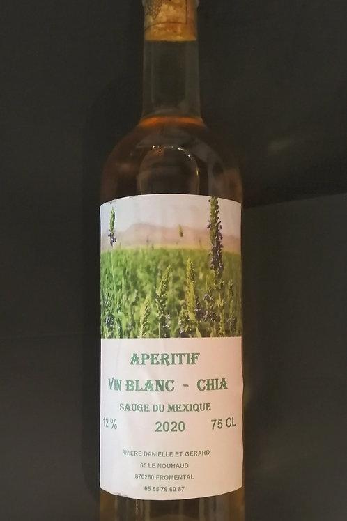 Vin Blanc CHIA Sauge du Mexique