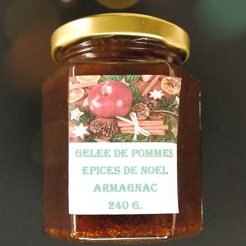 Gelée de Pomme Épices de Noël Armagnac