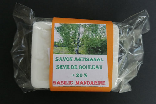 Savon BASILIC MANDARINE