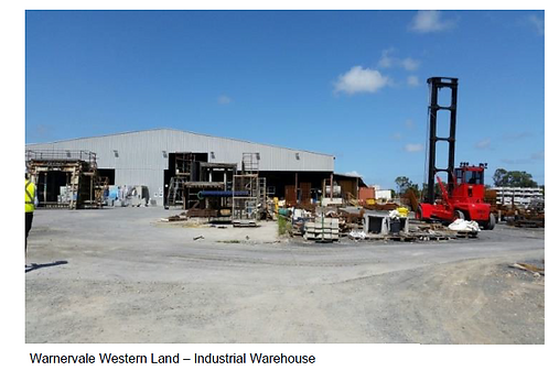 Warnervale Western Land - Industrial War