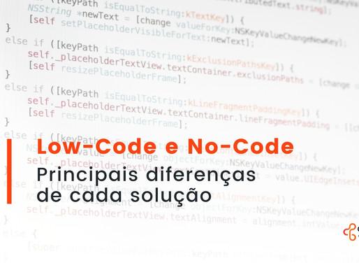 Low-code e No-code: principais diferenças de cada solução