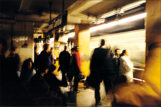 Rush Hour | Grand Central NYC 1996