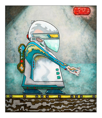 Super Aid Robo | Limited Edition Fine Art Print - Small