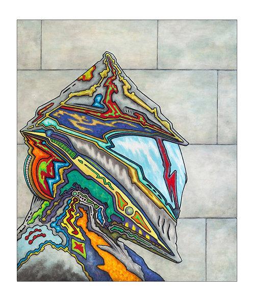 Future Knight | Limited Edition Fine Art Print - Small