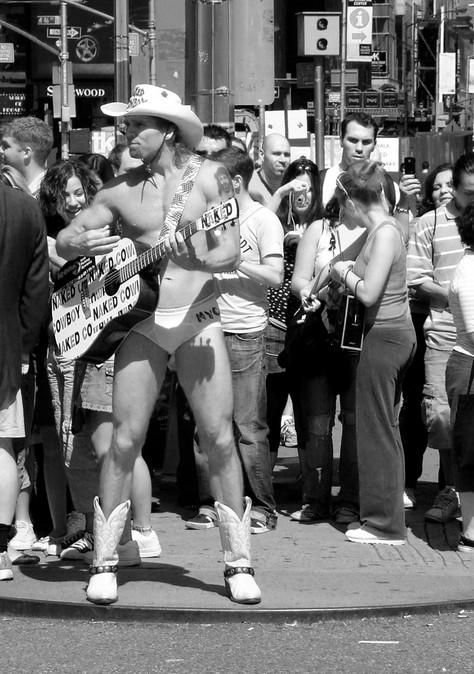 City Cowboy | Times Square, NYC
