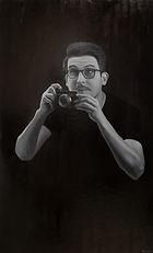 Portrait de Samuel, 70x115cm, huile s