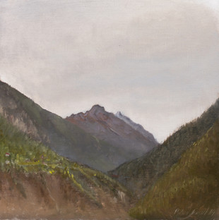 Etude en plein-air du Val d'Anniviers