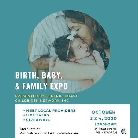 final SMV BIRTH, BABY, & FAMILY EXPO - E